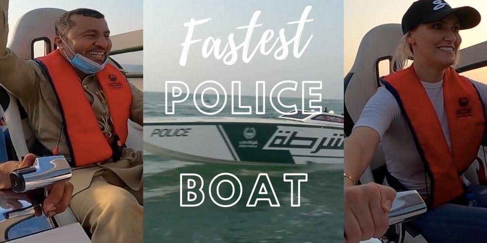 fastest police boat